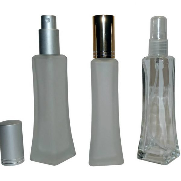 Glass bottle square base 23 ml